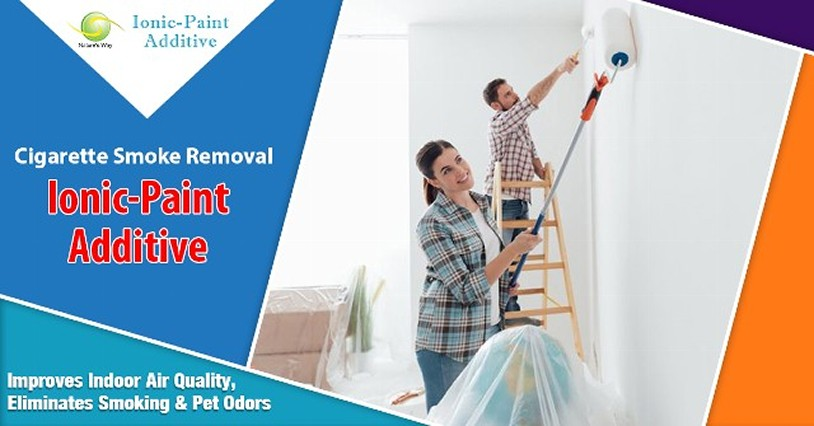 Water or Oil-Based Paint Additive for Odors